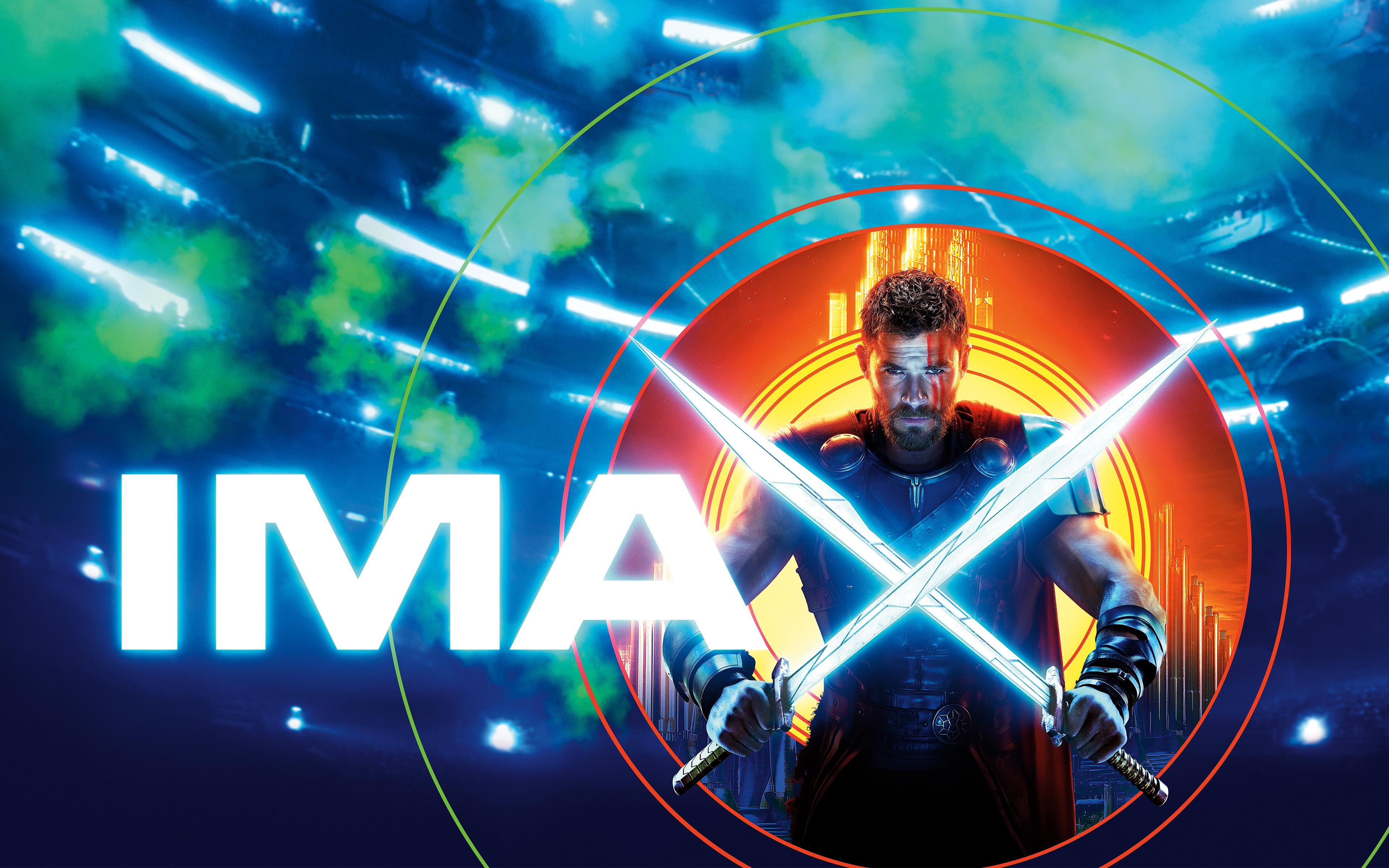 Тор рагнарок IMAX обои скачать