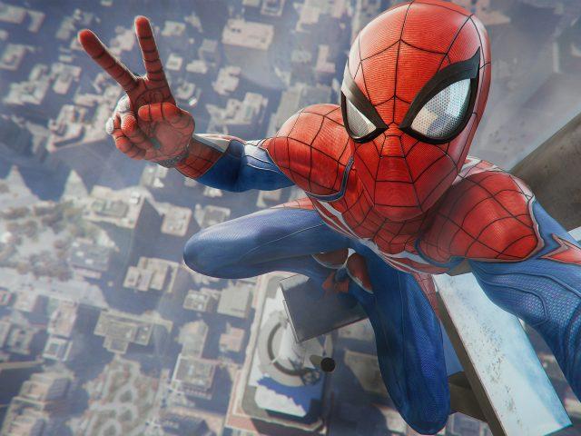 Человек-паук игра playstation 4