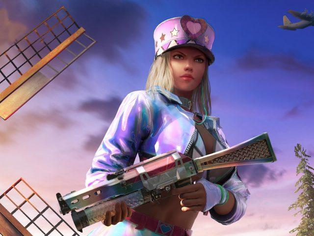 Паб снайпер девушка игры