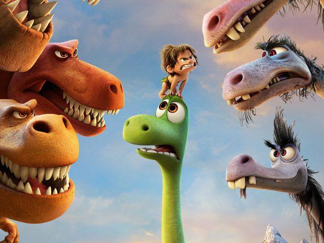 Хороший фильм динозавр.