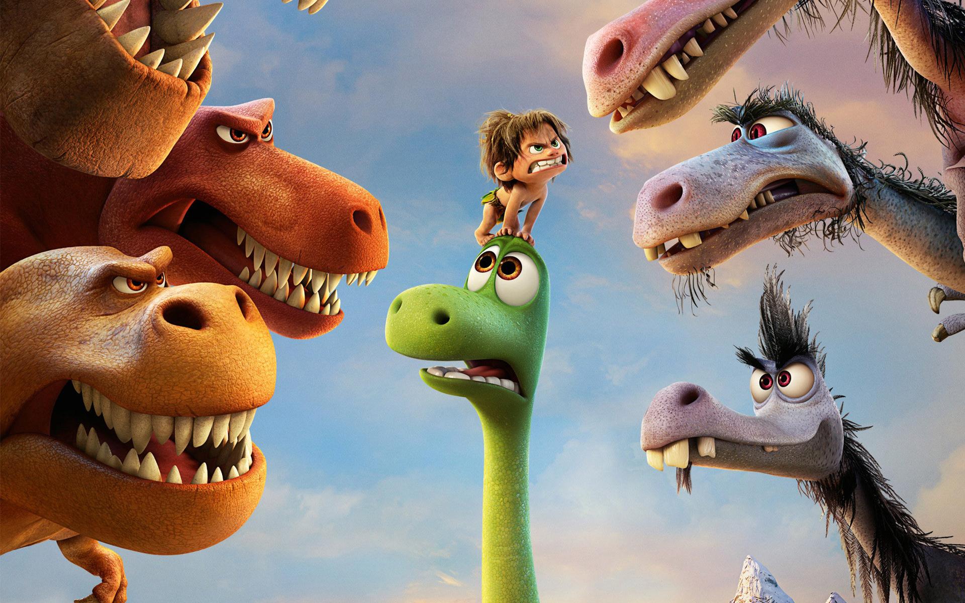 Хороший фильм динозавр. обои скачать