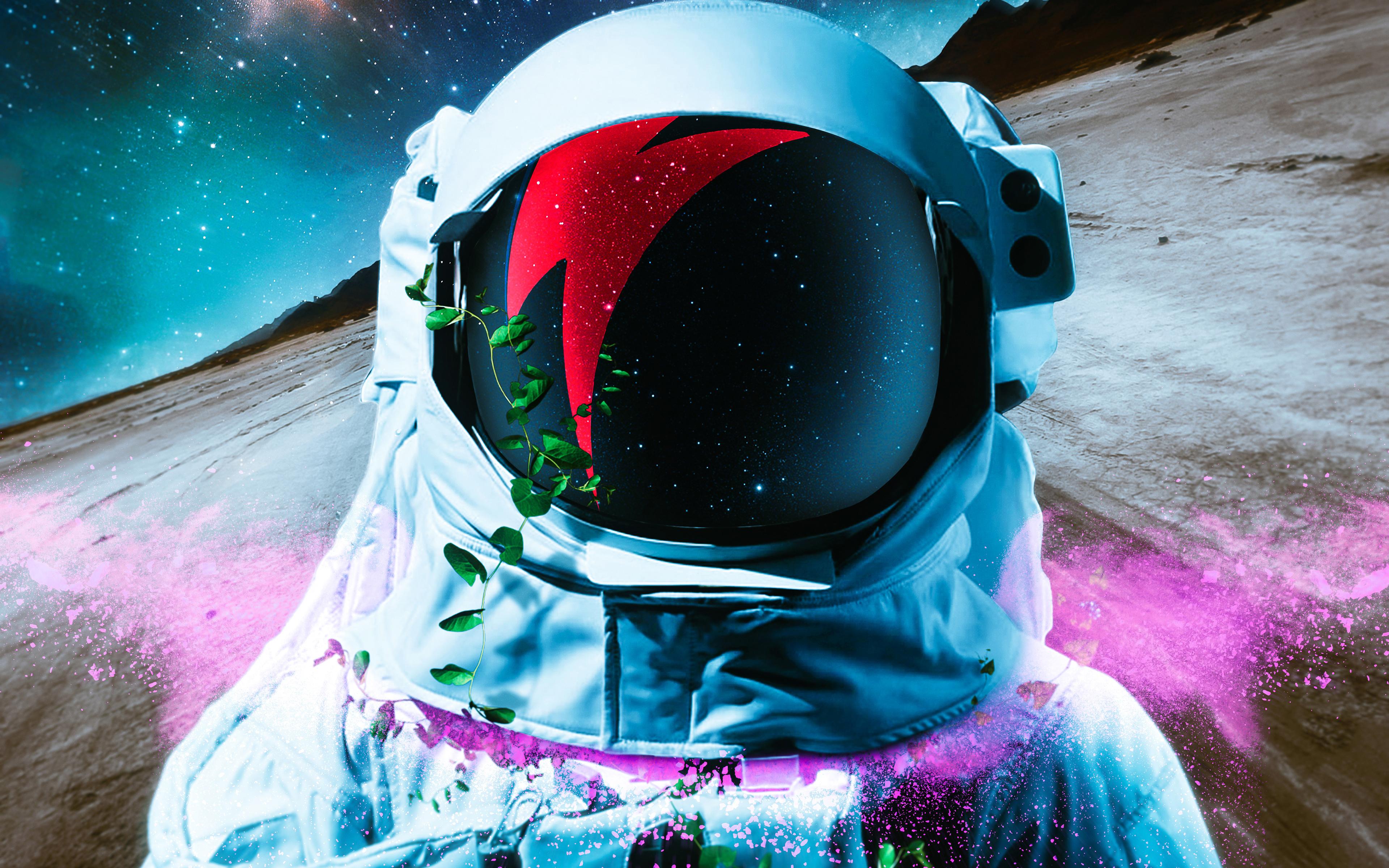 Астронавт обои скачать