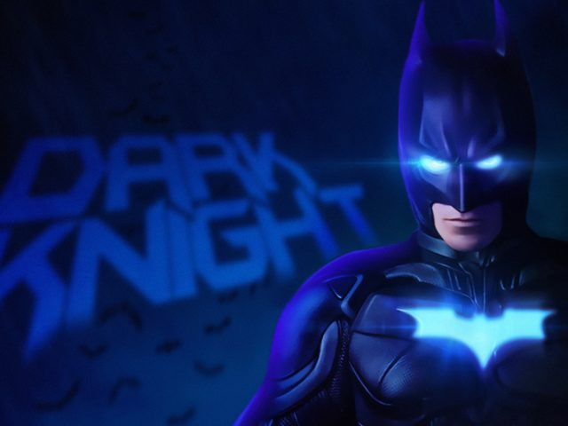 Бэтмен Темный рыцарь 4k