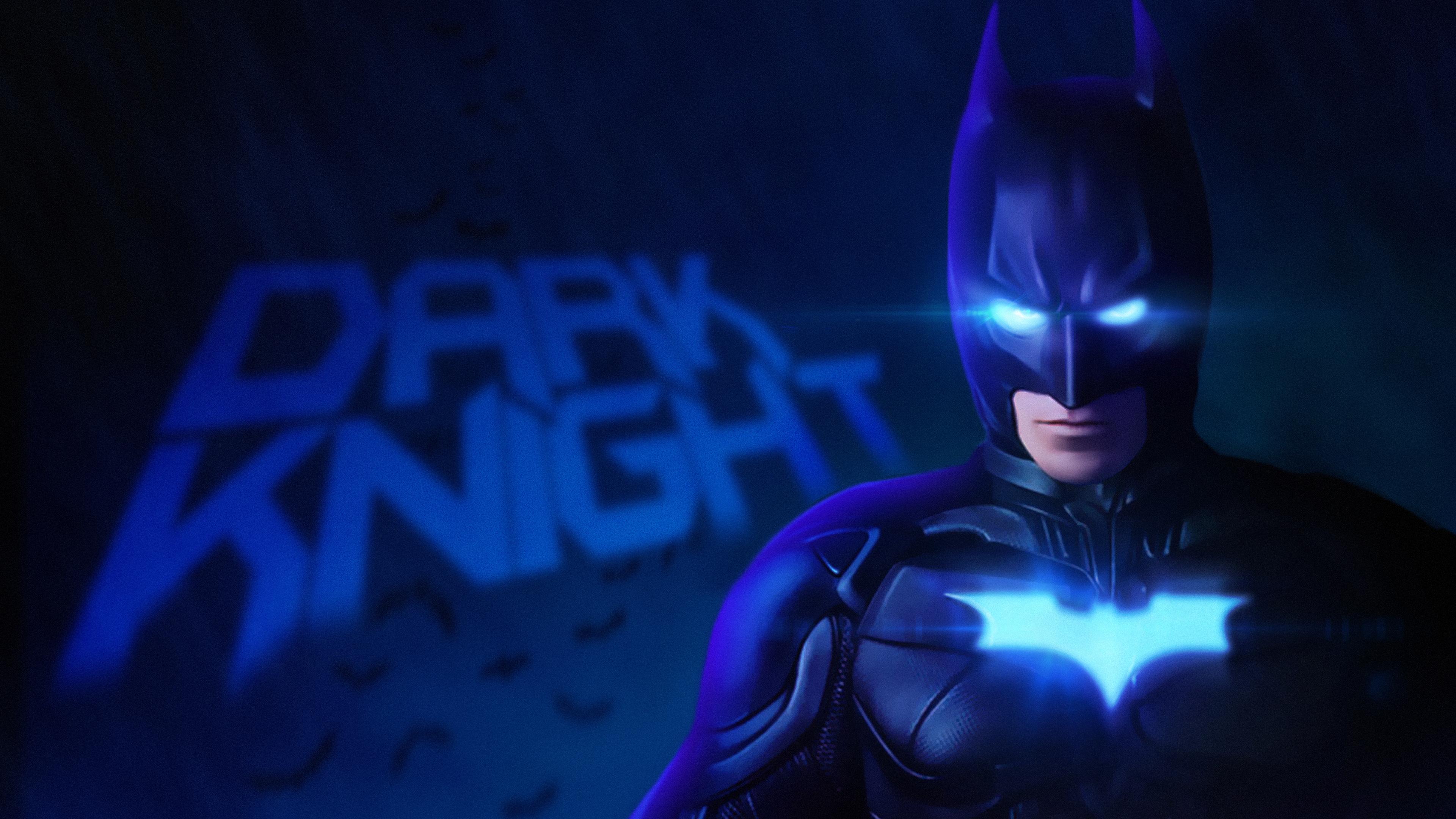 Бэтмен Темный рыцарь 4k обои скачать