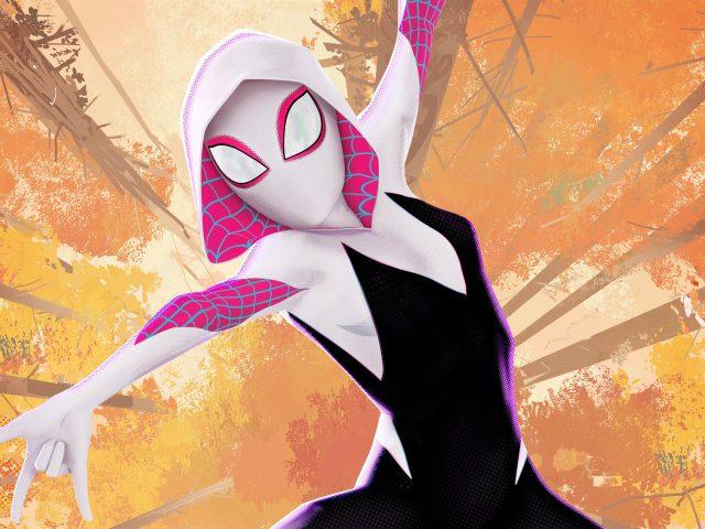 Паук-Гвен в Человеке-пауке в стихе паука