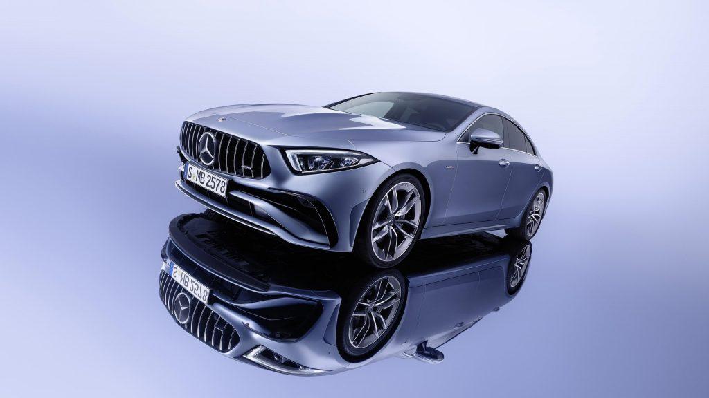 Mercedes amg cls 53 4matic 2021 3 автомобиля обои скачать