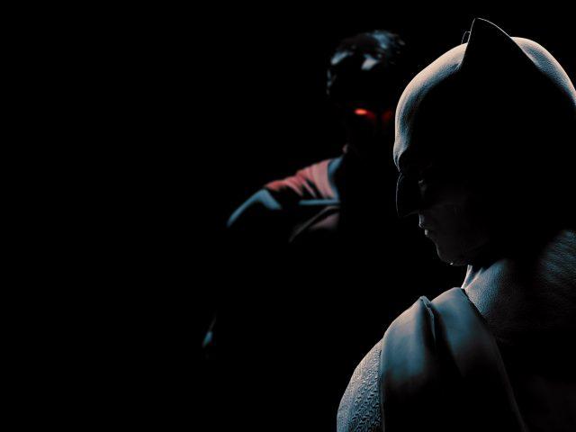 Супермен Бэтмен фан-арт