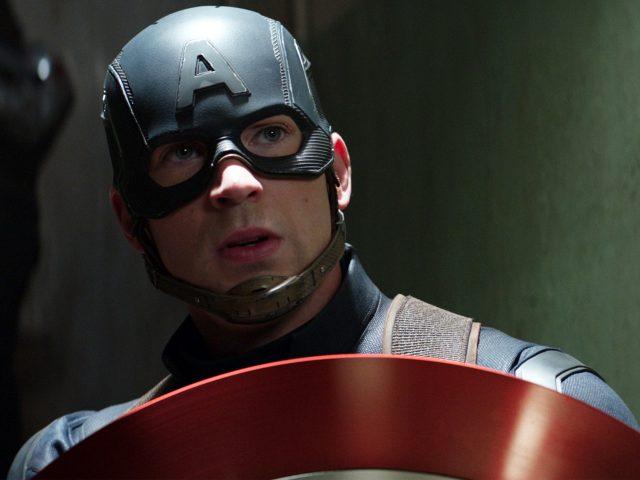 Крис Эванс Капитан Америка гражданская война.