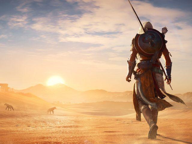 Ассассинс Крид происхождение жаркой пустыне.