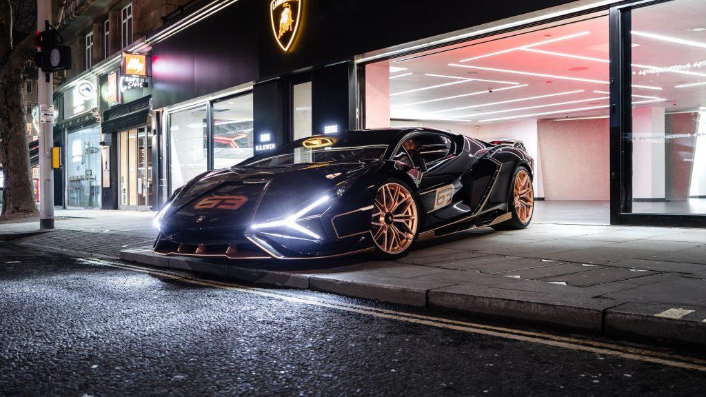 Lamborghini sian fkp 37 2021 6 автомобилей обои скачать
