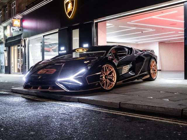 Lamborghini sian fkp 37 2021 6 автомобилей