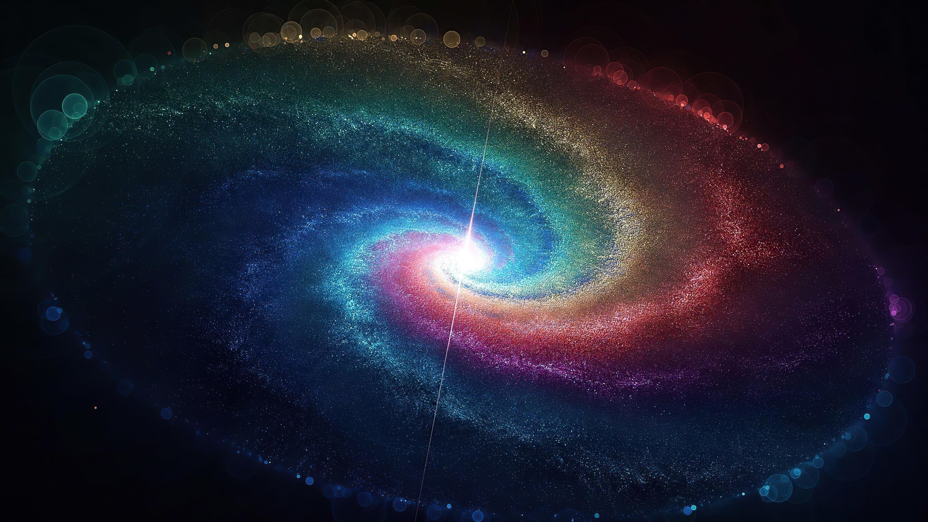Космическая галактика обои скачать