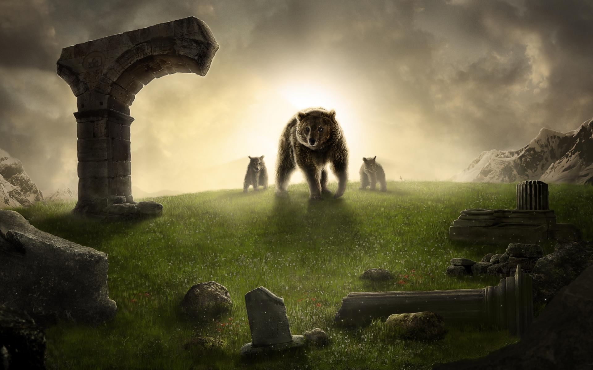 Царь-медведь. обои скачать