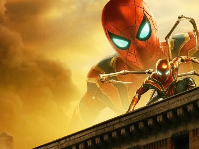 Железный Паук в Человеке-пауке далеко от дома