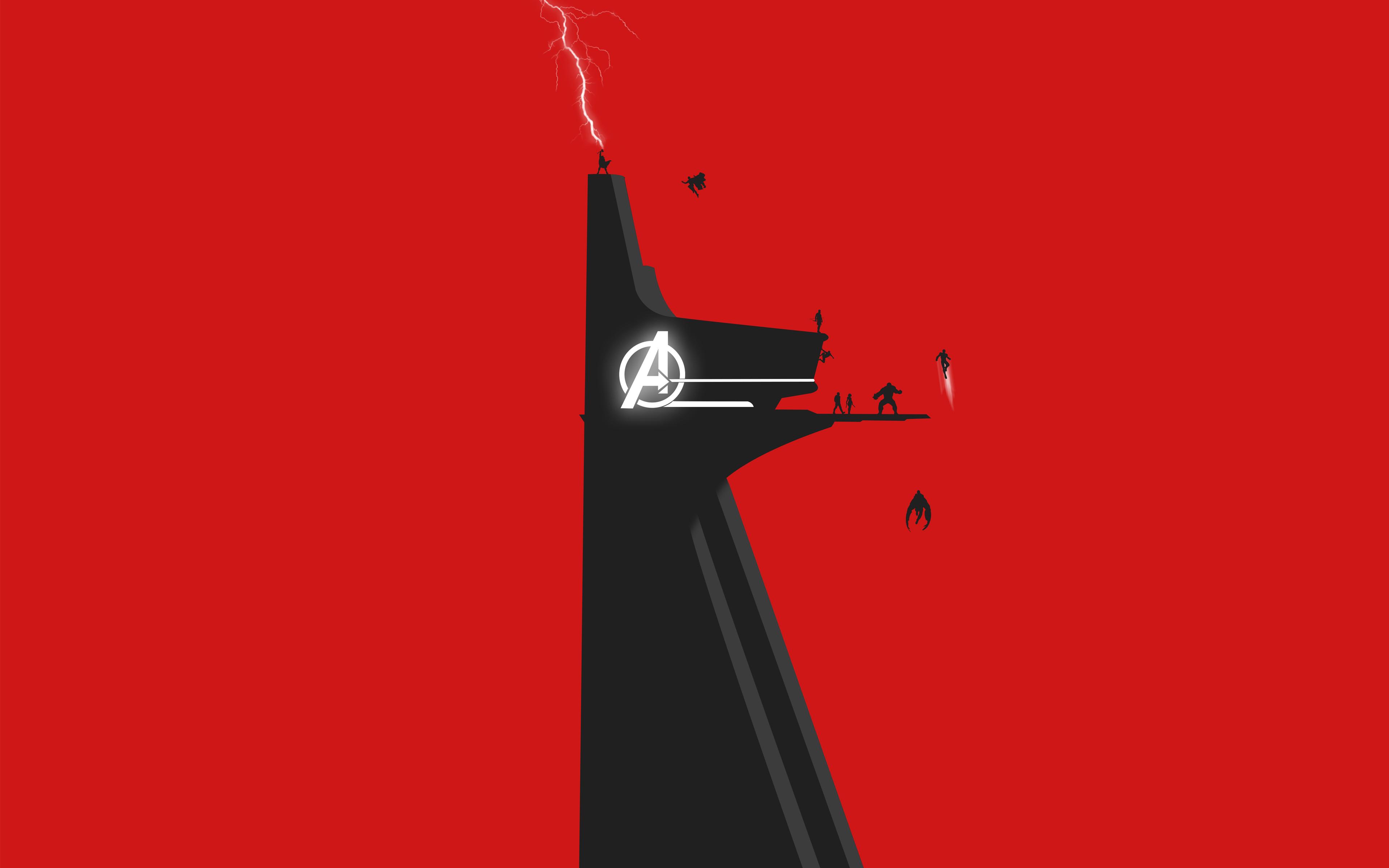 Башня мстителей обои скачать
