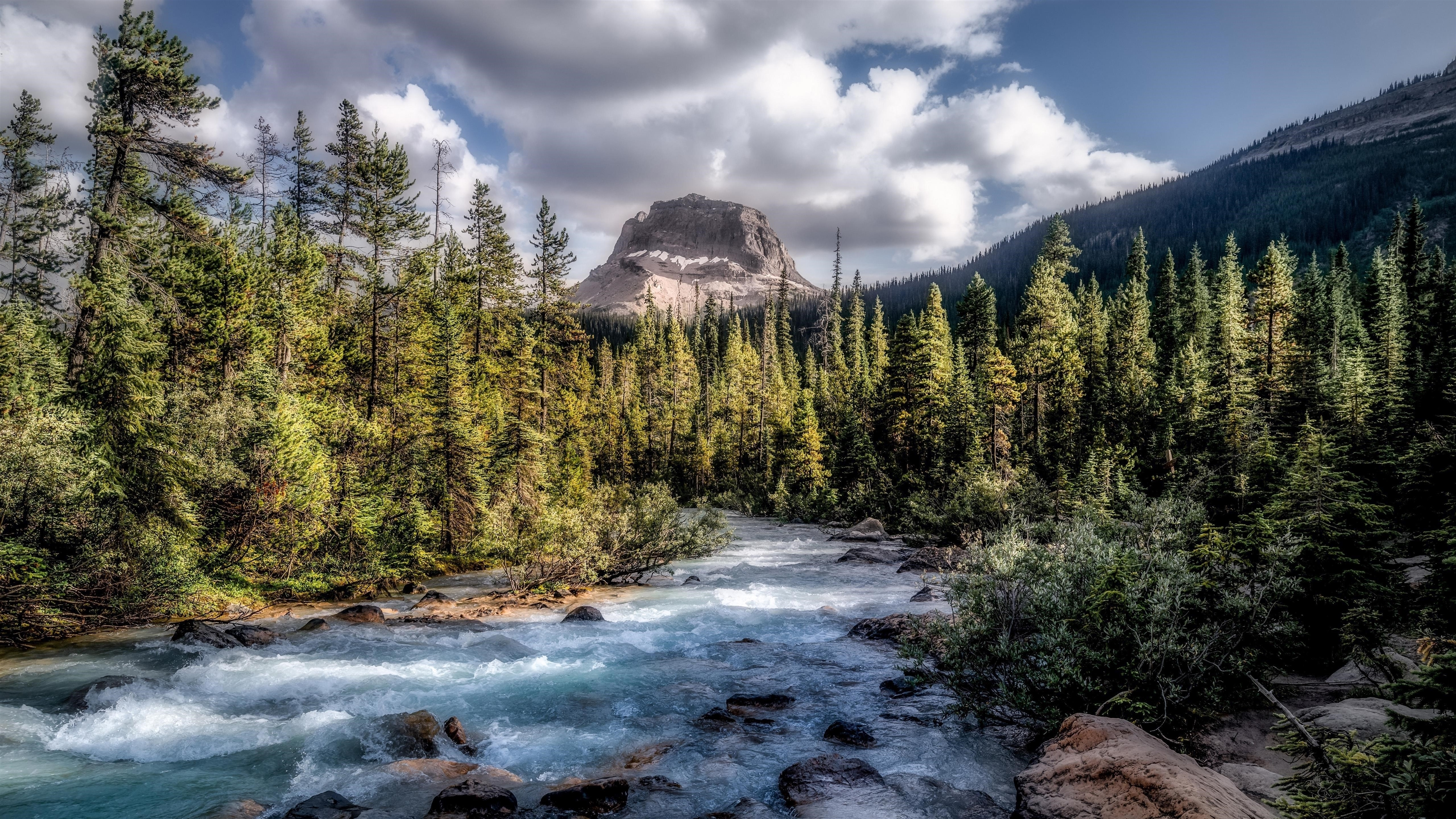 Земля река скалы обои скачать