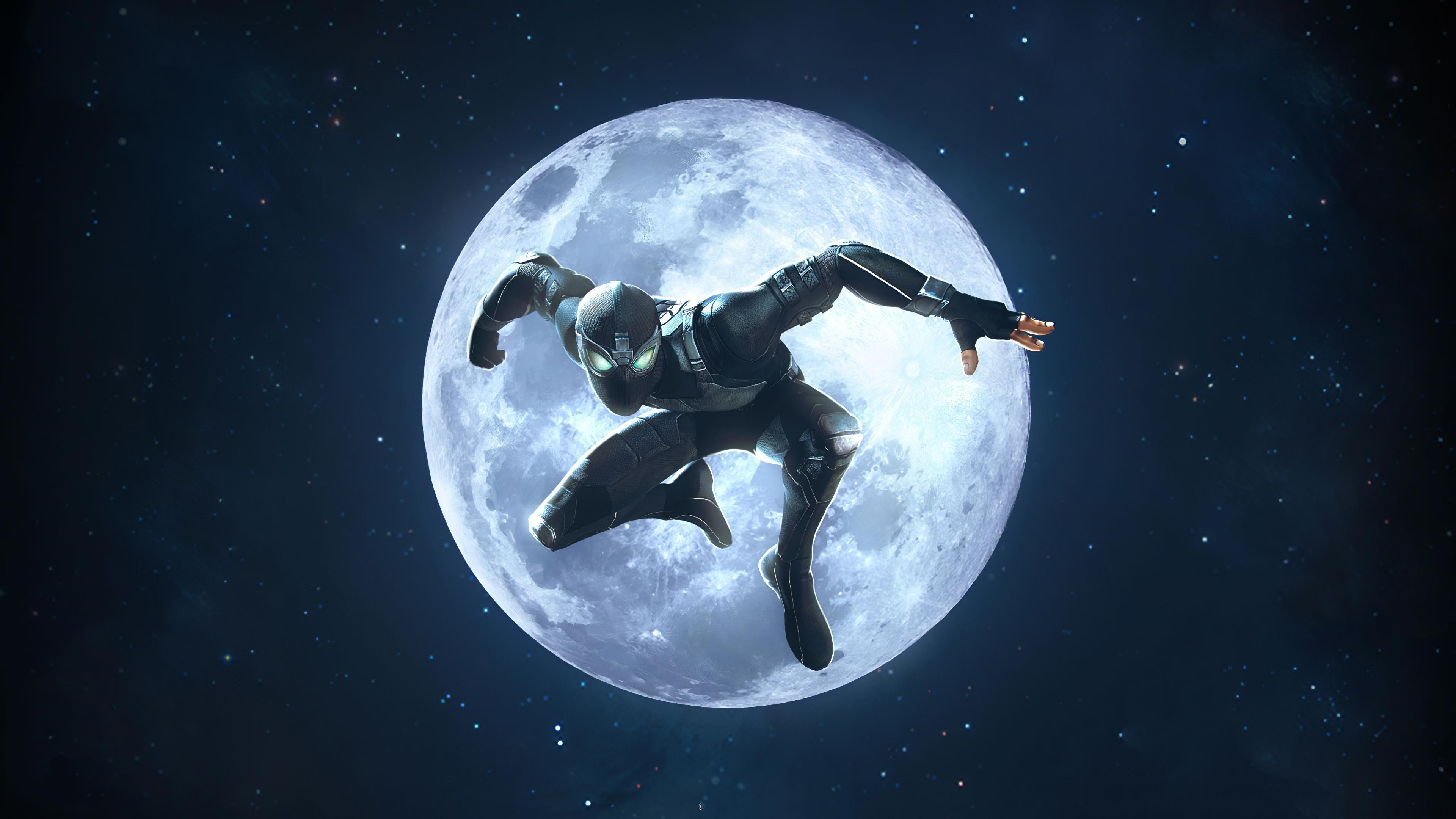 Marvel contest of champions night spider-man обои скачать
