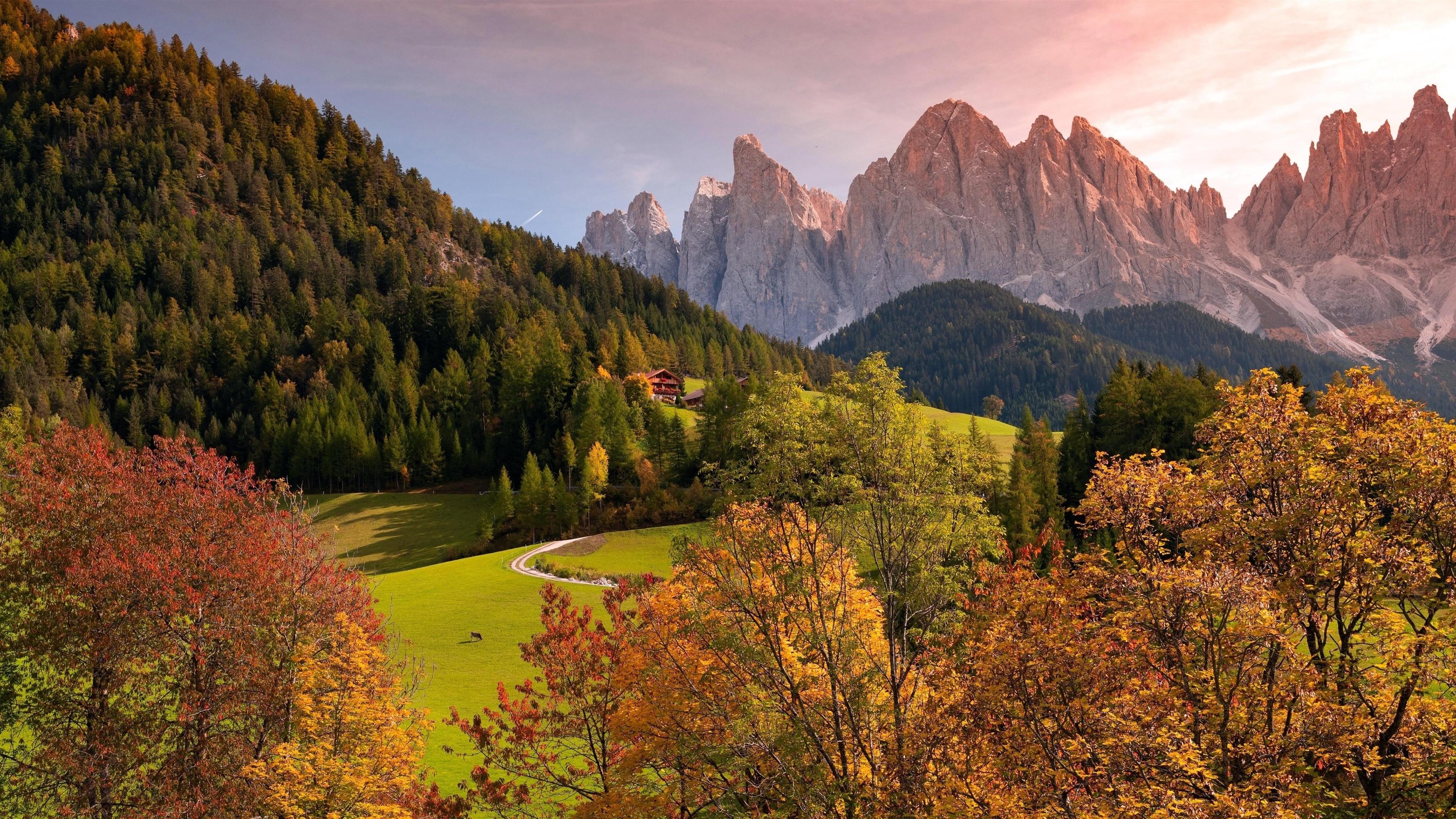 Скалистые горы пейзаж обои скачать