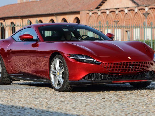 Ferrari roma 2021 6 автомобилей