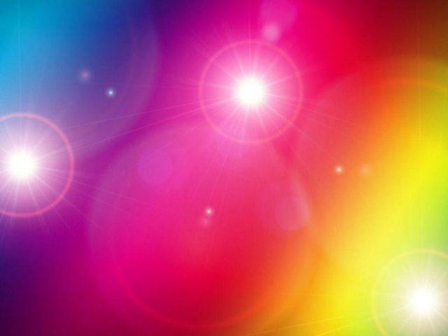 Освещение розовый синий желтый зеленый абстрактный