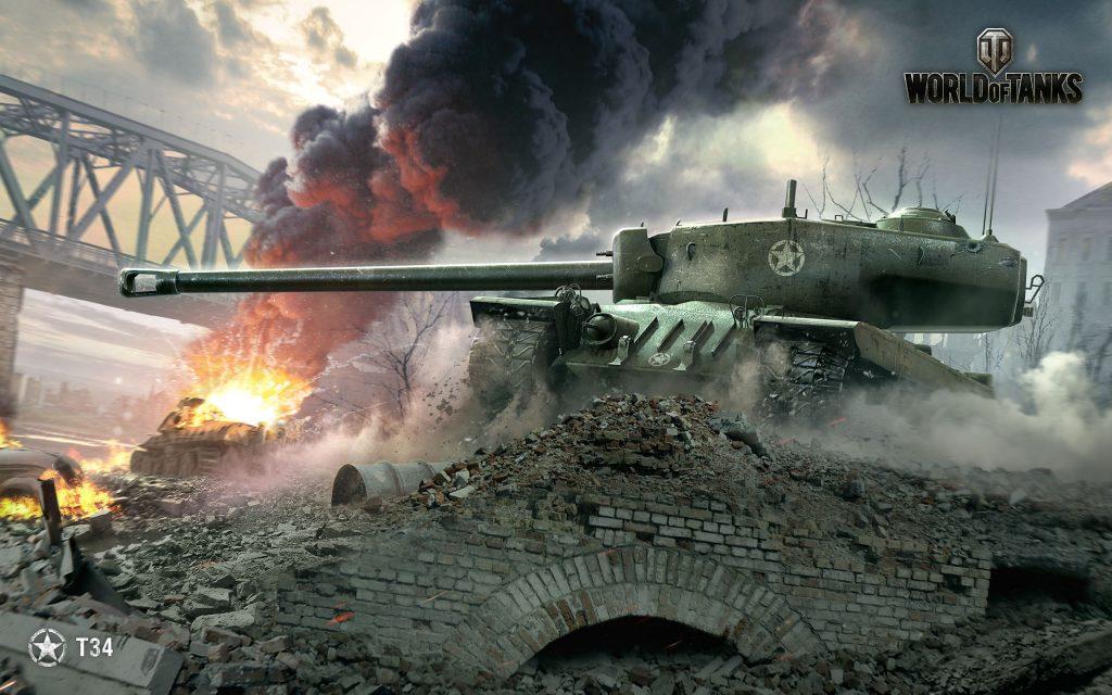Т34 Мир танков. обои скачать