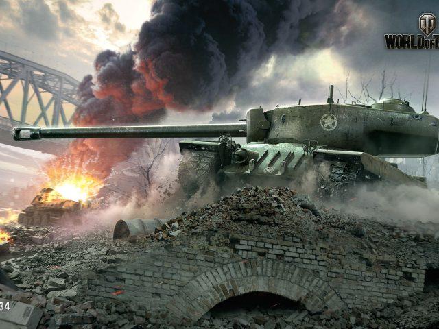 Т34 Мир танков.