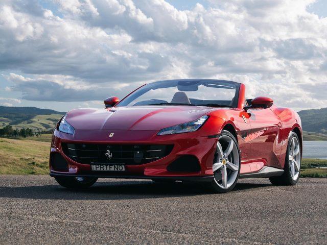 Ferrari portofino m 2021 2 автомобиля