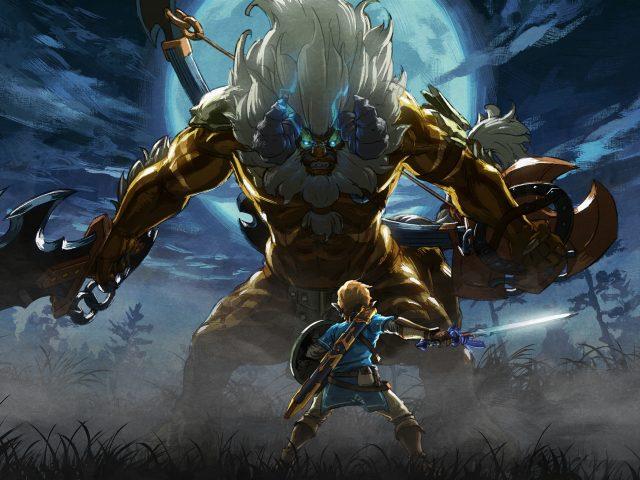 Легенда о Zelda дыхание дикой мастер испытаний DLC