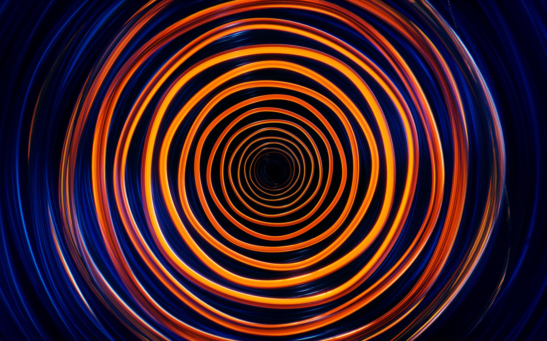 Спиральная волна обои скачать