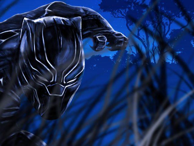 Фан-арт «Черная пантера»