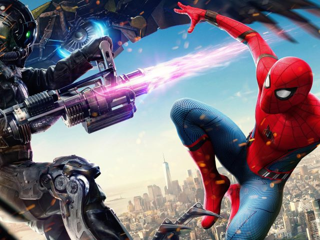 Стервятник Человек паук возвращение