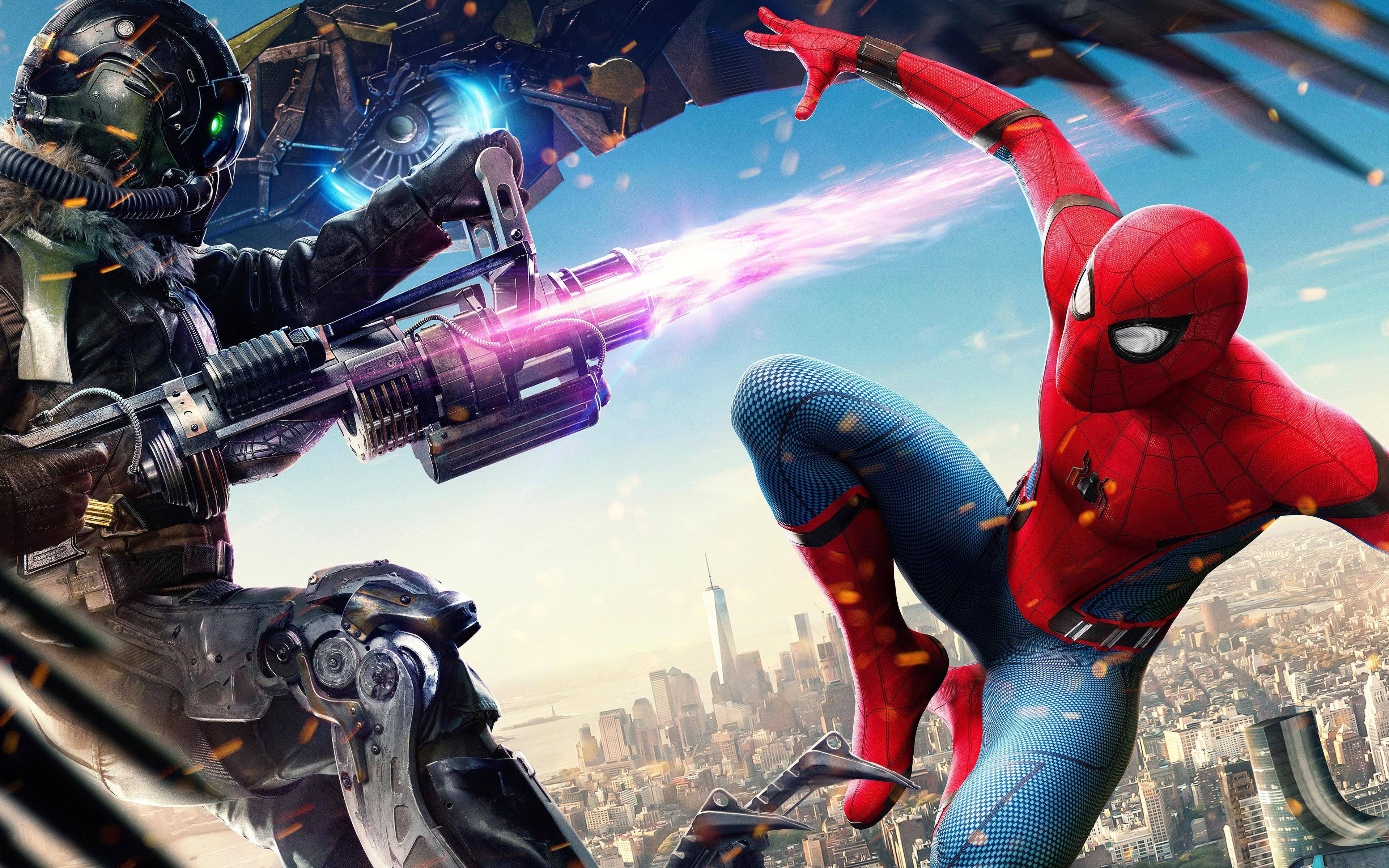 Стервятник Человек паук возвращение обои скачать