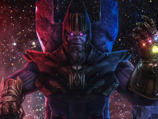 Танос фан-арт