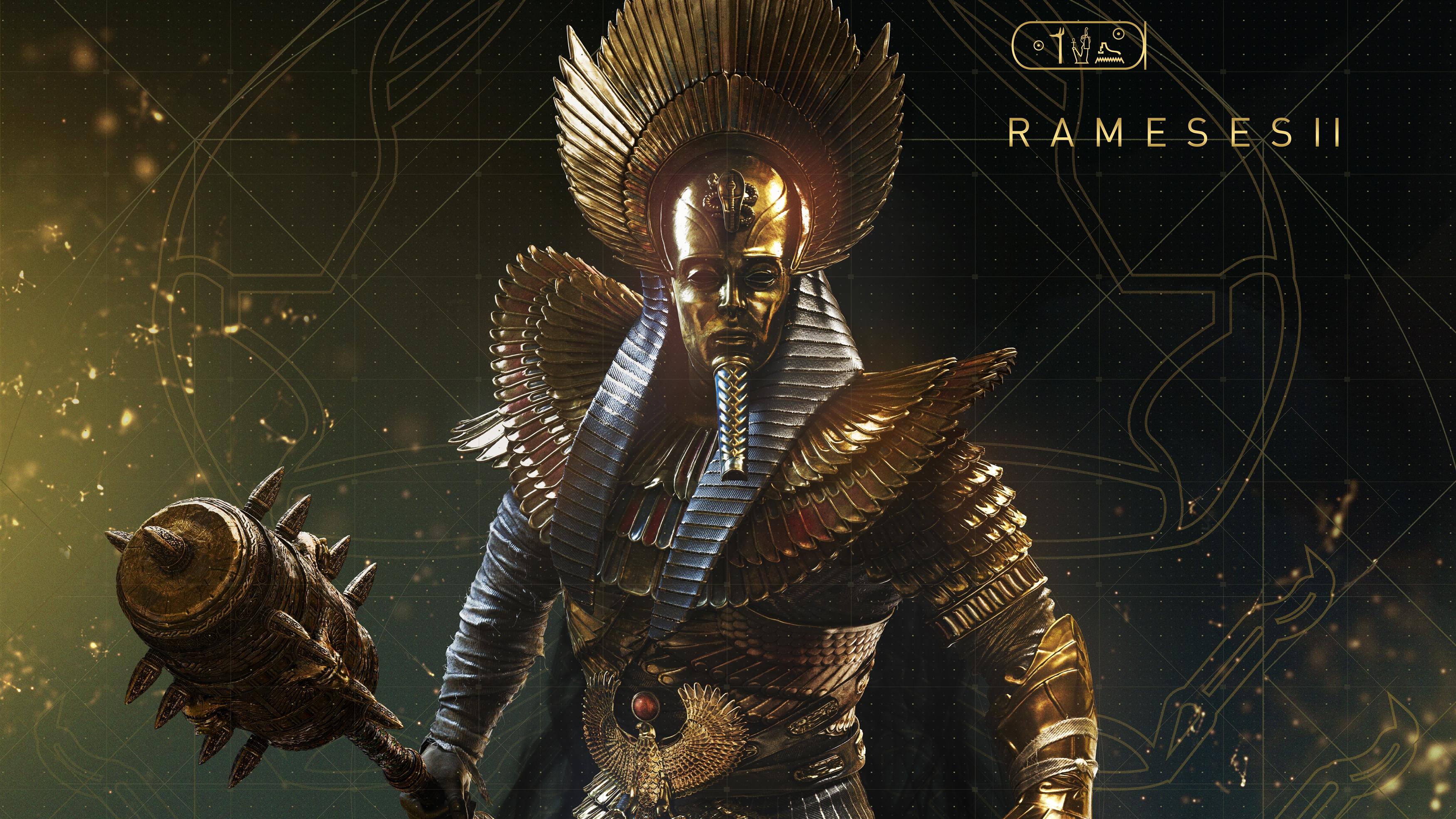 Кредо убийцы происхождение Рамсеса II обои скачать