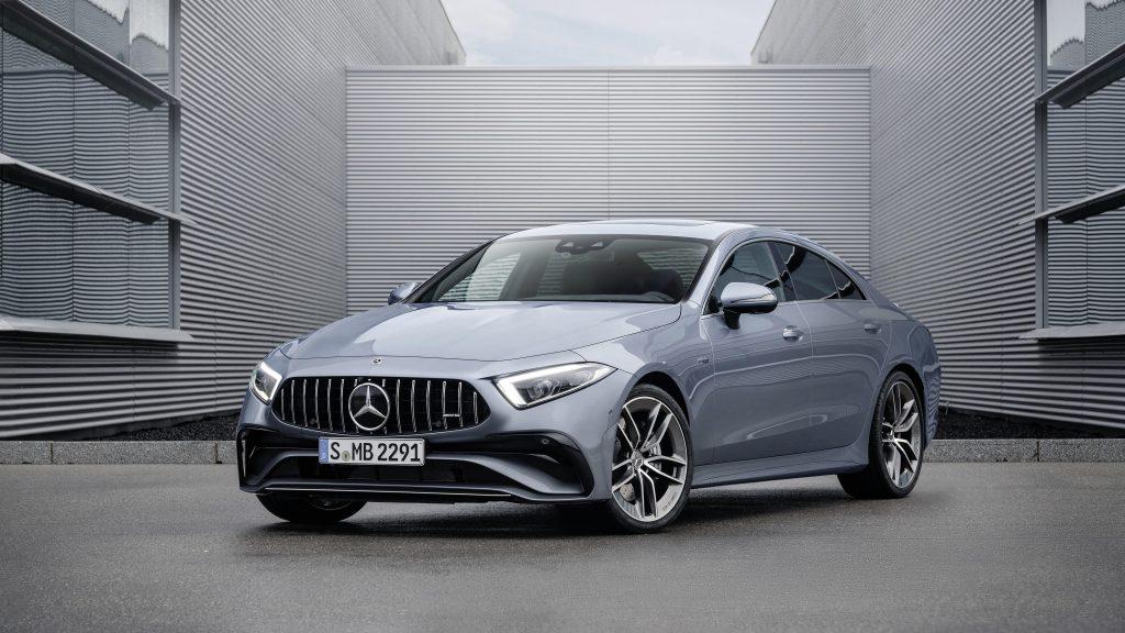 Mercedes amg cls 53 4matic 2021 автомобили обои скачать