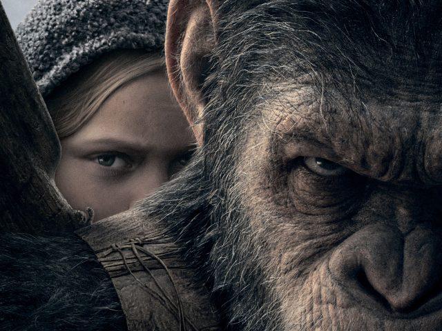 Amiah Миллер войну за планету обезьян.