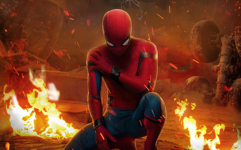 Человек-паук возвращение IMAX Китай обои скачать