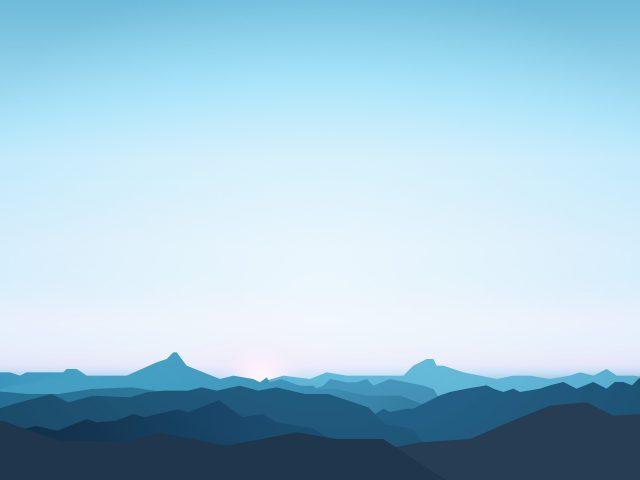 Горы минимальные
