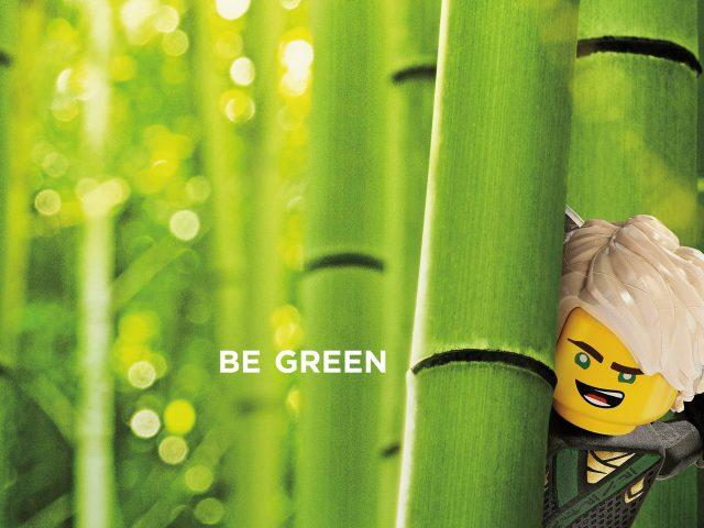 Ллойд зеленым Лего ниндзяго