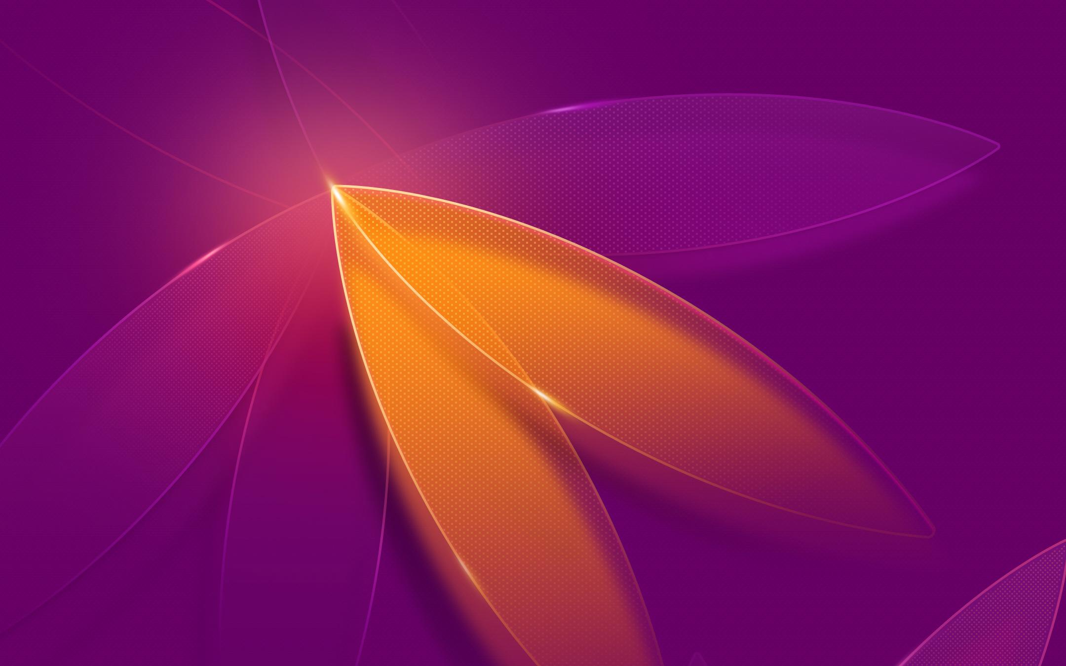 Фиолетовый абстрактного цветок обои скачать