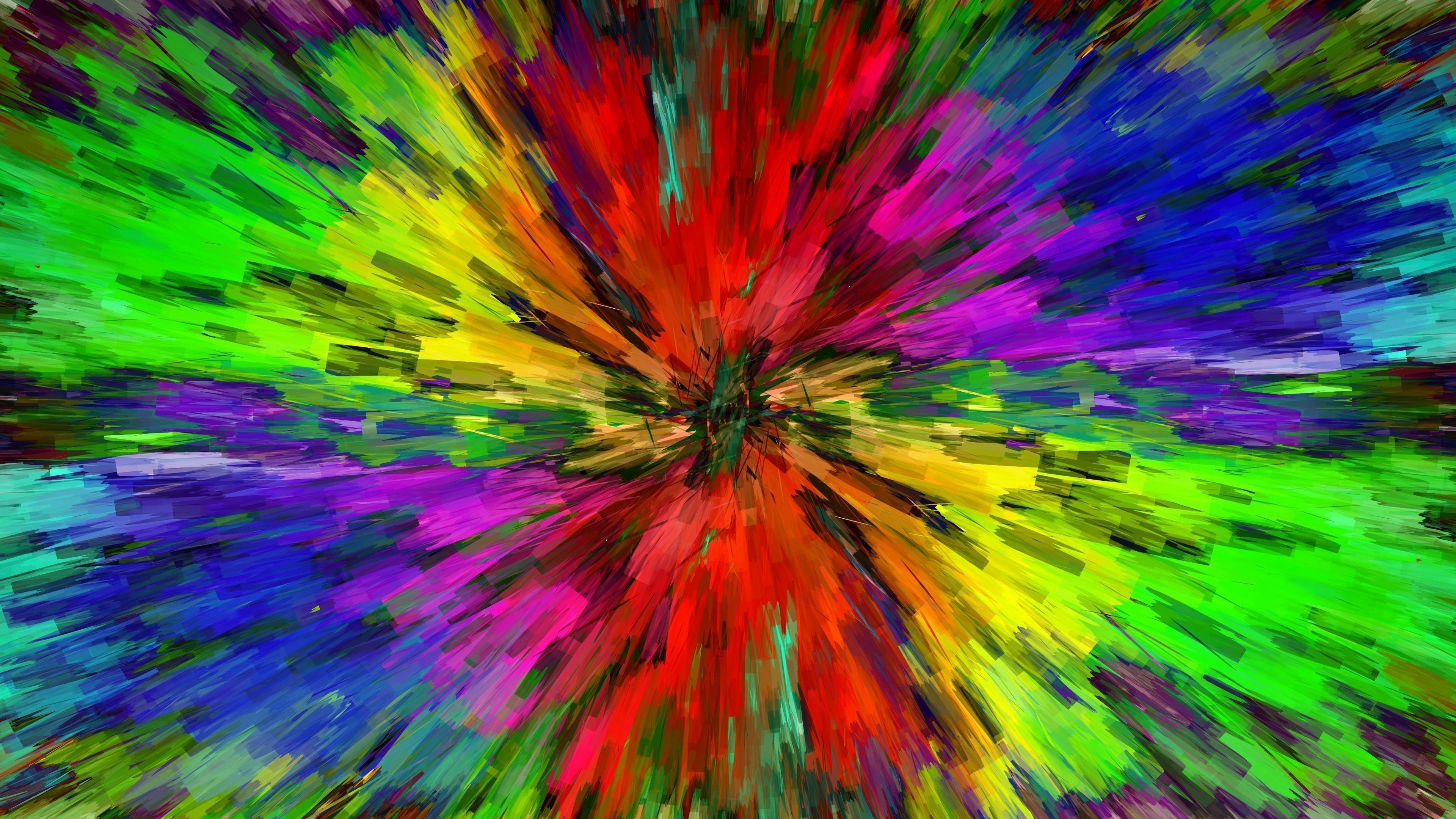 Абстрактные цвета новые обои скачать