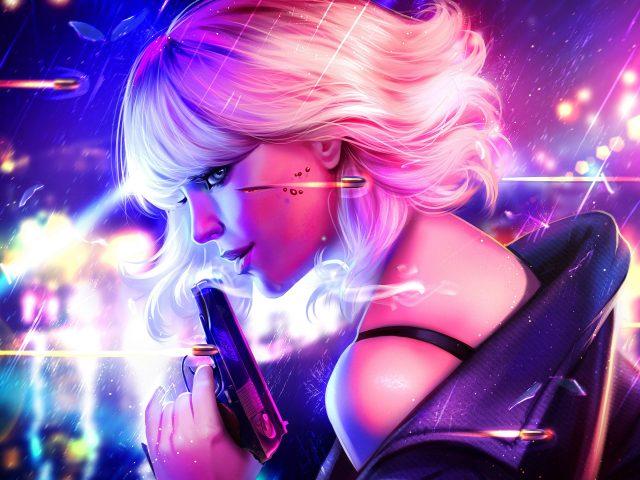 Атомная блондинка искусства