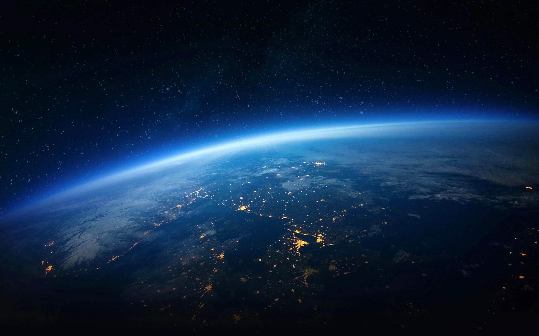 Earth horizon. обои скачать