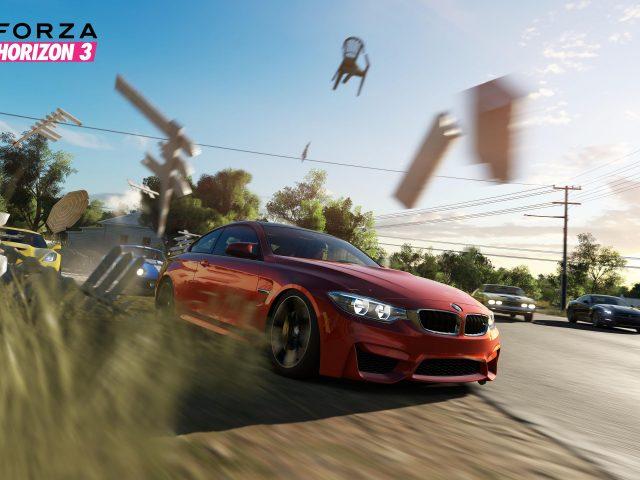Горизонт Forza 3 геймплей