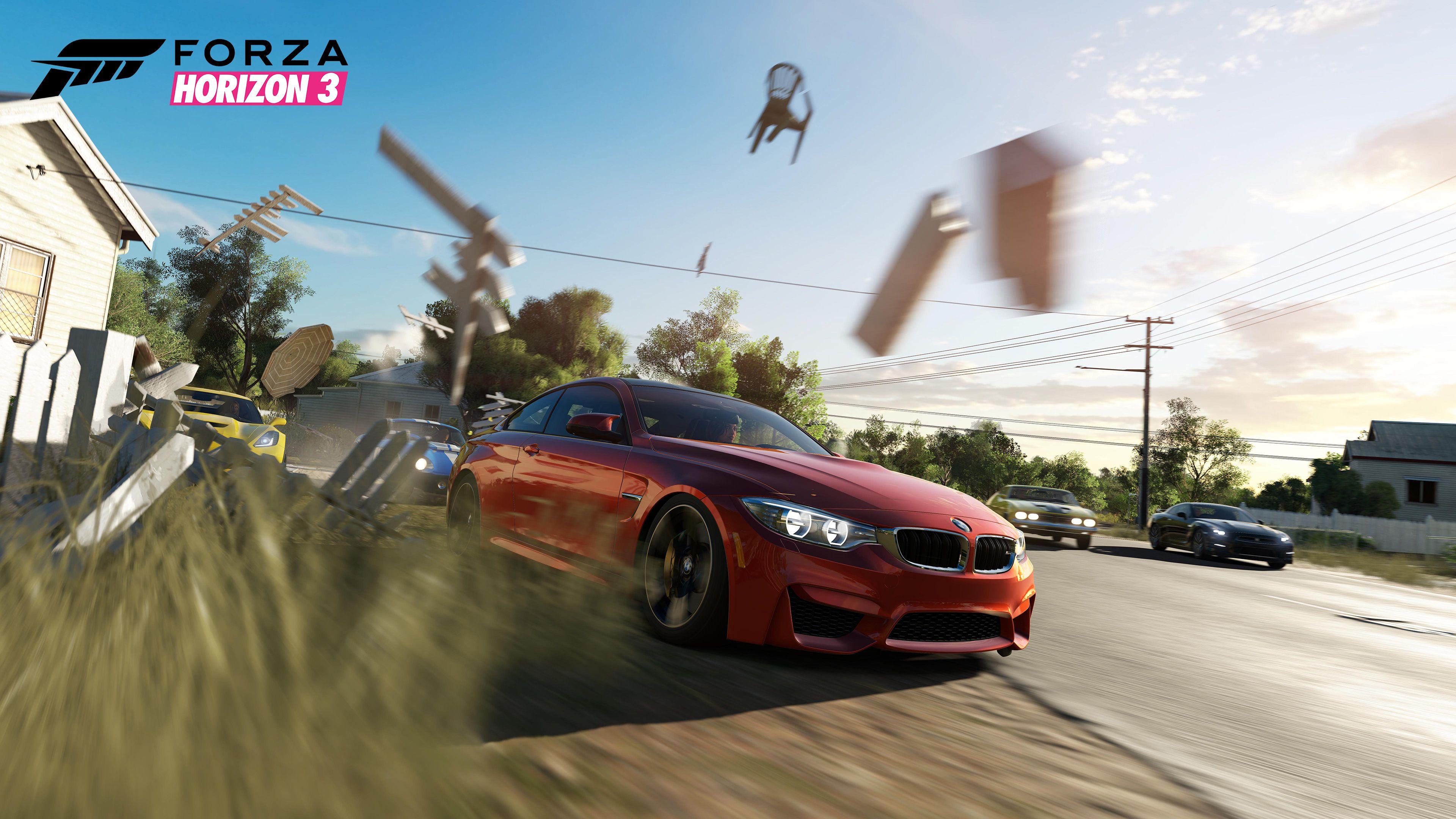 Горизонт Forza 3 геймплей обои скачать