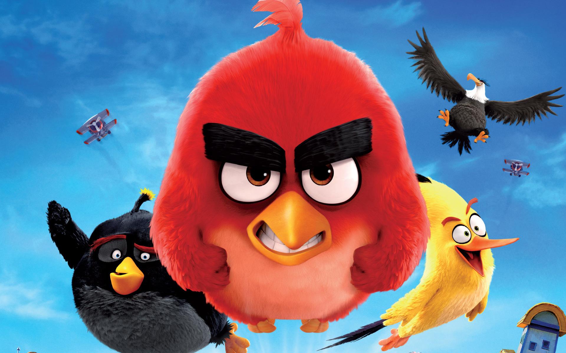 Злые птицы фильм. обои скачать