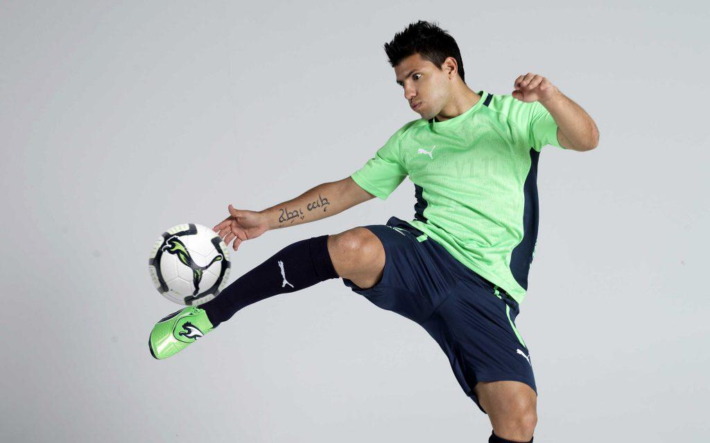 Серхио Агуэро футболист. обои скачать