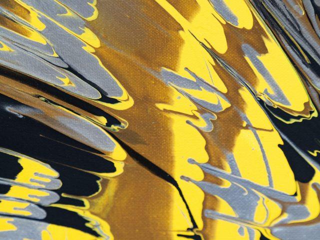 Кляксы краска холст брызги пятна