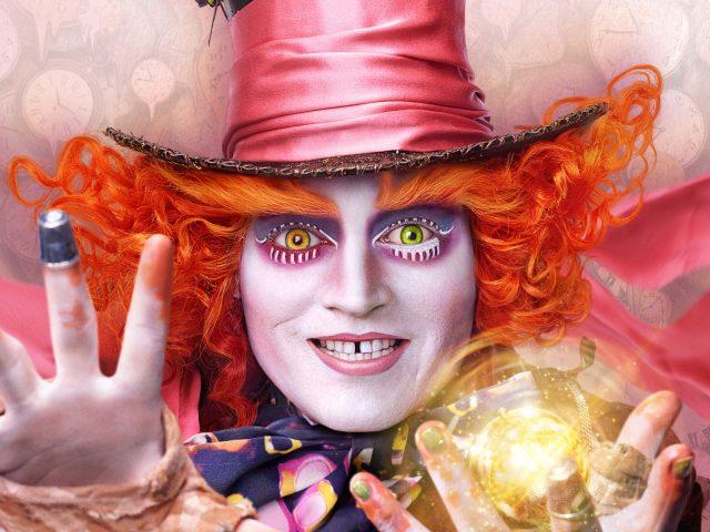 Безумный шляпник Алиса в Зазеркалье.