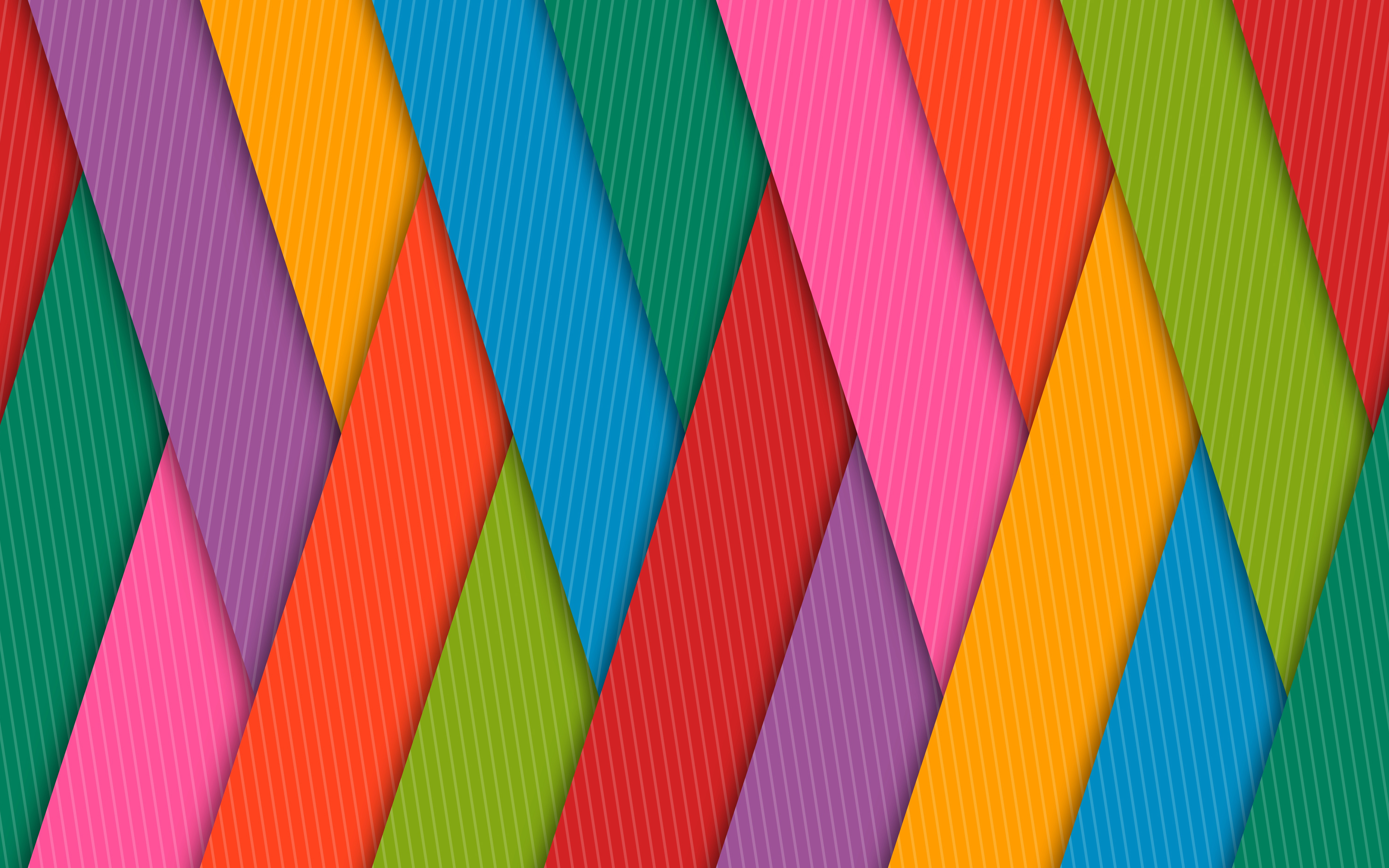 Красочные полосы обои скачать